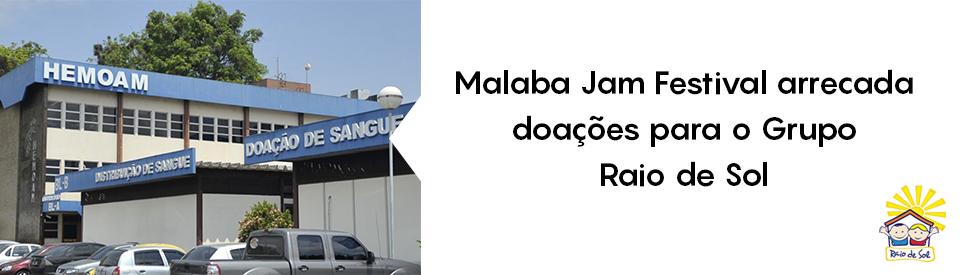 Malaba Jam Festival arrecadacao